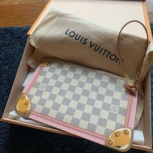 Authentic Louis Vuitton Neverfull Trunk Pochette
